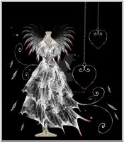 Gothic Angel Gown by rockgem