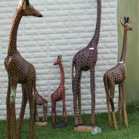 Giraffes figures by ingeline-art