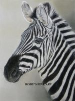 Zebra - Realism by robybaer