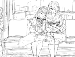 -doodle- ride home by LadyOgien