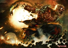 Asura's Wrath by Kanthesis
