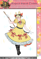 PCA - Brande Magical Girl by KnucklestheEchidna25