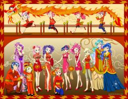 Happy Chinese New Year from Equestria! by Dynasty-Dawn