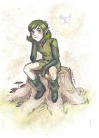Saria- COLORED ONLY by who-stole-MY-name