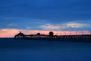 Royal Blue Pier by robert-kim-karen