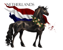 Horse Hetalia: Netherlands by Moon-illusion