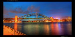 The Sydney Harbour Bridge by octane2