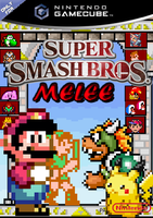 Super Smash Bros Melee 16 bit by jdunning619