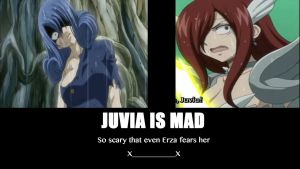 Juvia Is Mad by Darkorias