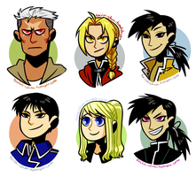 FMA Headshots by sry005