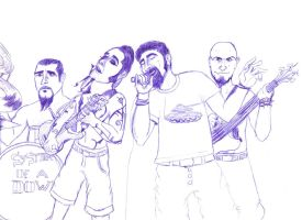 System of a Down by LooseMinded