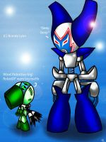 ROBOTBOY MEETS ROBOTDF by TheDocRoach