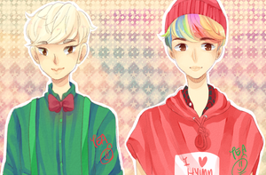 AT: EXO by teasomething