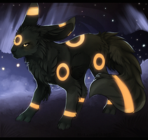 Umbreon by MapleSpyder