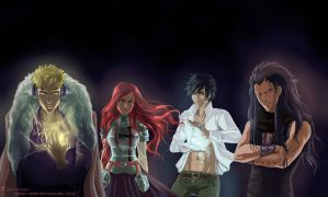 Fairy Tail by Erika-Xero