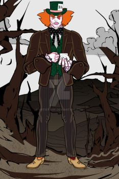 Heromachine: The Mad Hatter by ARTIST-SRF