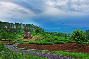 Gedong Songo Temple 3 by danusagoro