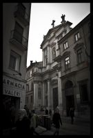 street of vicenza by peach-poison