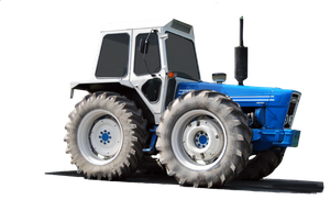 Tractor 02 PNG. by Alz-Stock-and-Art
