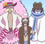 OP - Doffy Disguise by Rosey-Raven