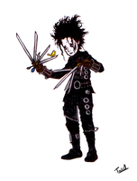 Edward Scissorhands by tavini1