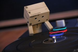 Danbo tries to be a DJ 2 by Skycaller1311