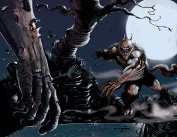 Werewolf vs zombies _the Cursed  and the Damned by FrancescoIaquinta
