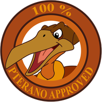 Pterano Approved Sticker by RockingScorpion