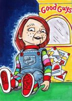 31Cards: Chucky by AtlantaJones