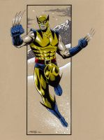 Wolverine Original Costume by 93Cobra