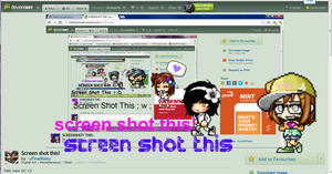 Screenshot this~! by krissi76