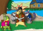 The Wind In The Willows- Pokemon Style! by Trurotaketwo