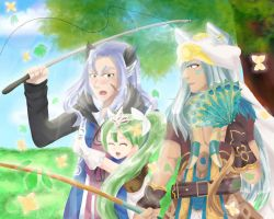 Rune Factory 4 Fishing Contest by HimenoRenai