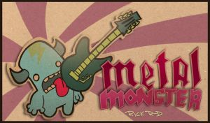 Metal Monster by rickrd