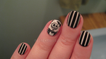 nightmare before christmas nails - jack by xtheungodx