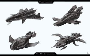 Ships concepts by Azot2016