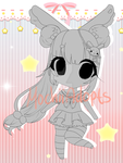 [CLOSED] Chibi Adopt #3 Choose your own pallete by MochiiAdopts