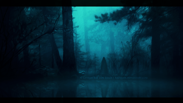 Ominous forest by GeneRazART