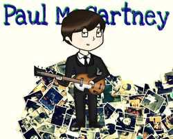 Paul McCartney by AnyQueenBee
