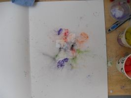Untitled. Pigment dust by ElectricBlueGee