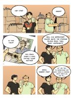 comic strip: dad's advice by ARCHVERMIN