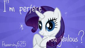 Rarity is perfect! by Fluttershy625