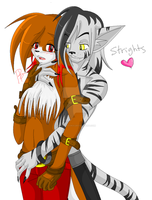Strights colored by FoxyPheonix