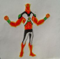 Nrg out of suit Ben 10000 by Kamran10000
