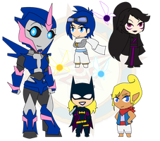 Assorted Chibis - Set 9 by Dragon-FangX