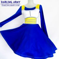 Vegeta Dragonball Z Cosplay Printed Dress by DarlingArmy