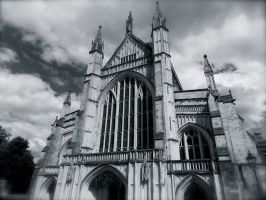 Winchester Cathedral 02 by Li33i