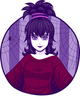 One layer Challenge - Lydia Deetz by Ivayvey