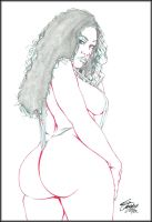 ABSOLUTELY AMBER 2 PENCIL by Artistik-Bootya