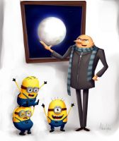 Despicable Me by MidoriGale